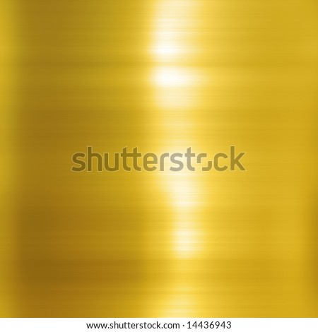 Beautiful polished gold texture - stock photo