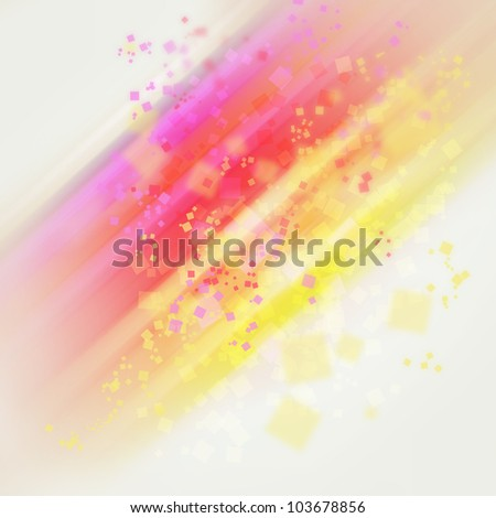 Beautiful positive abstract background - stock photo