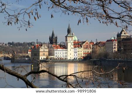 Beautiful Prague in Czech Republic - stock photo