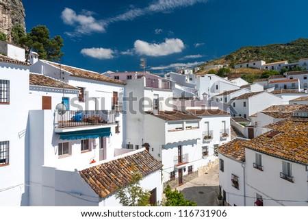 Beautiful Punto Blanco village in Spain - stock photo
