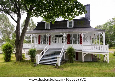 country home decor canada mansard roof stock images royalty free images amp vectors 10655