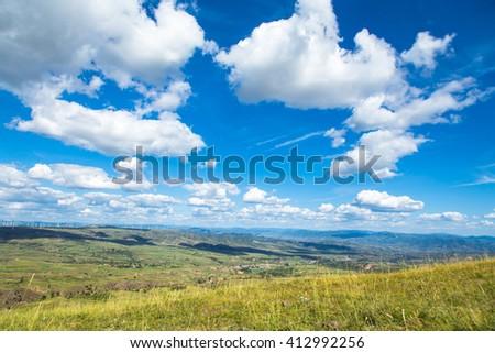 beautiful scenery - stock photo
