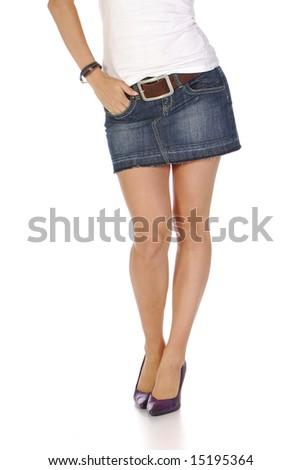 beautiful sexy girl - stock photo