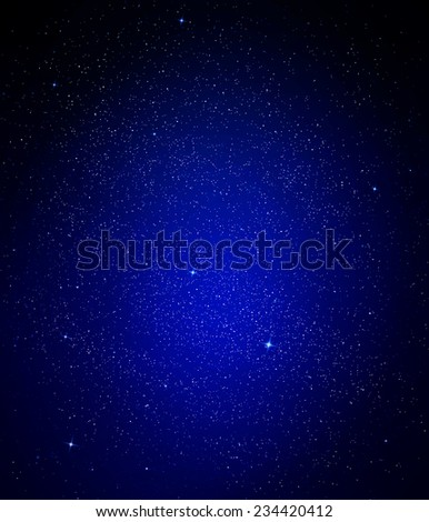 Beautiful sky background - stock photo