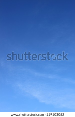Beautiful sky texture - stock photo