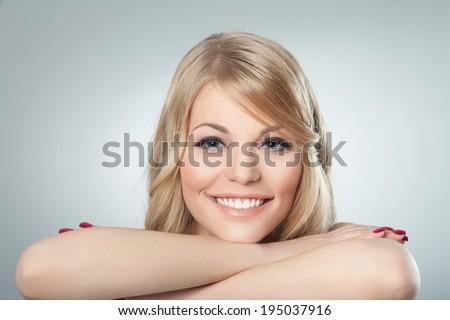 Beautiful smile - stock photo