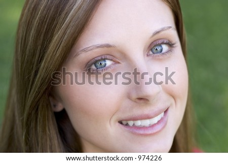 Beautiful Smiling Woman