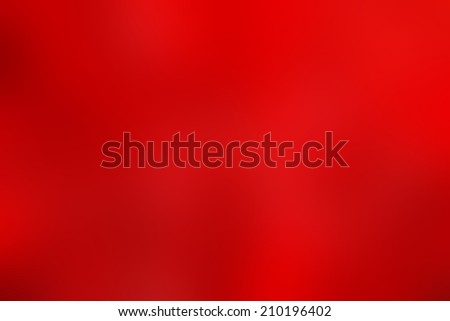 Beautiful Smooth Abstract Red Background for Christmas Card or your design - stock photo