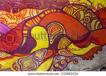 Beautiful street art graffiti abstract creative stock for Beautiful creative art