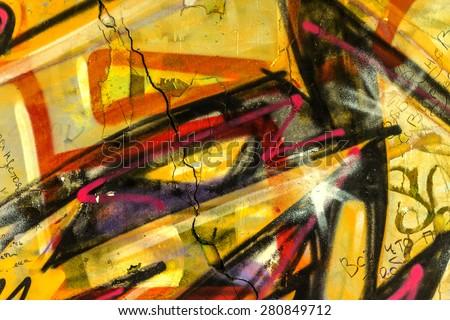 Beautiful Street Art Graffiti Abstract Creative Stock Photo & Image ...