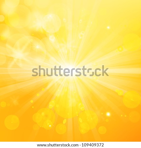 Beautiful summer background - stock photo