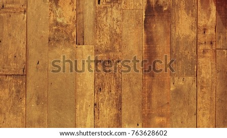 Beautiful Surface of Natural Wooden Wall / Floor / Ceiling in Brown or Tan Color.