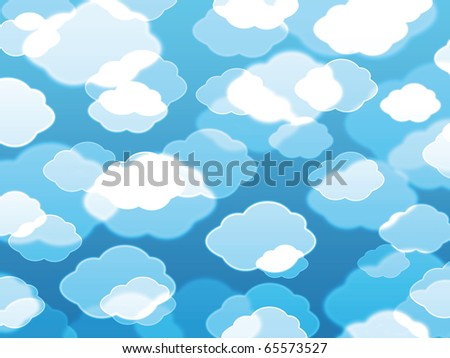 Beautiful sweet cloudy sky background.