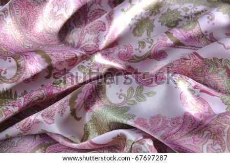 Beautiful Textile - stock photo