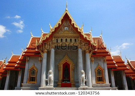 Beautiful Thai Temple temple in Bangkok