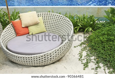 Beautiful tropical beach - stock photo
