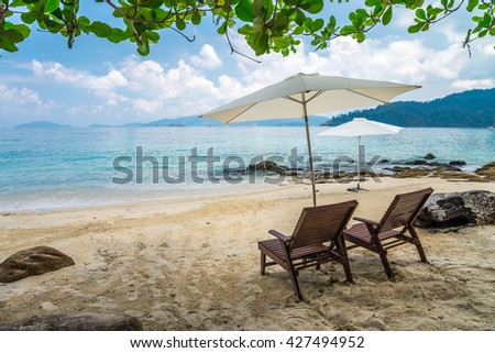 Beautiful tropical island beach - Koh Lipe, Satun Thailand