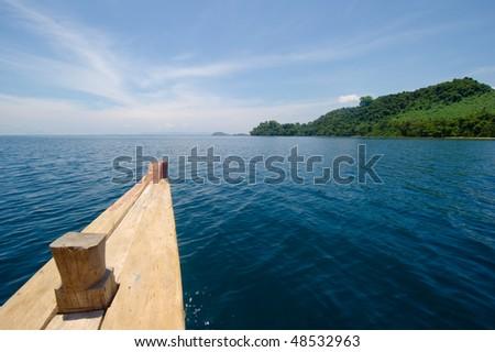 beautiful tropical island destination - stock photo