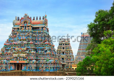South Indian Temple Background – images free download