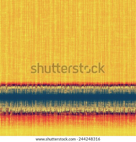 Beautiful vintage background. With different color patterns: yellow (beige); red (orange); blue - stock photo
