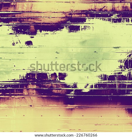 Beautiful vintage background. With different color patterns: yellow, purple (violet), gray