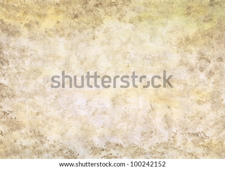 Beautiful watercolor background in soft brown - stock photo