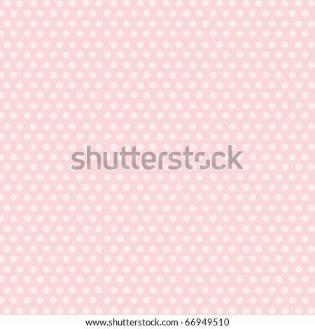 Beautiful white dots on pink background. - stock photo