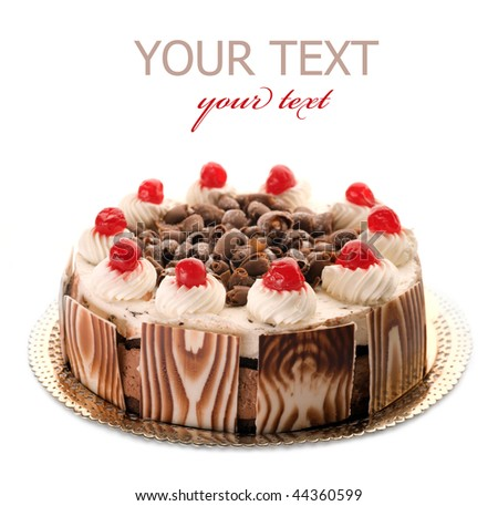 Beautiful whole Cake - stock photo
