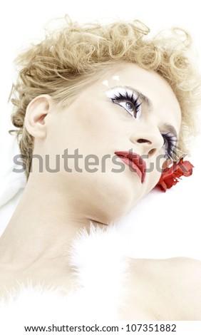 Beautiful woman posing. - stock photo