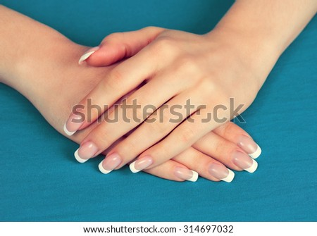 Hands Man Woman Holding Red Heart Stock Photo 142946206 ...