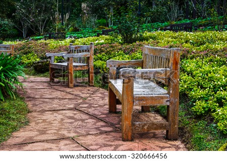 garden chair stock images, royalty-free images & vectors