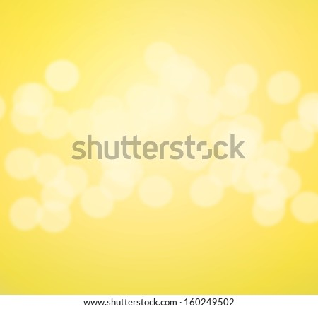 Beautiful yellow background with blurred lights