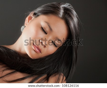 Beautiful Young Asian Woman