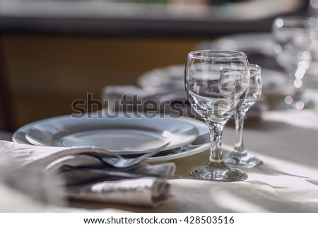 beautifully decorated table