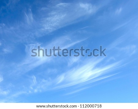 beauty blue sky