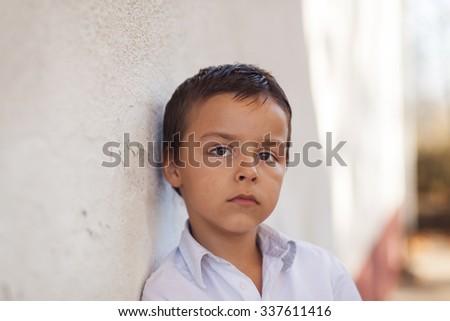 beauty child portrait - stock photo