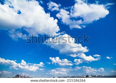 Beauty Clouds Heavens  - stock photo