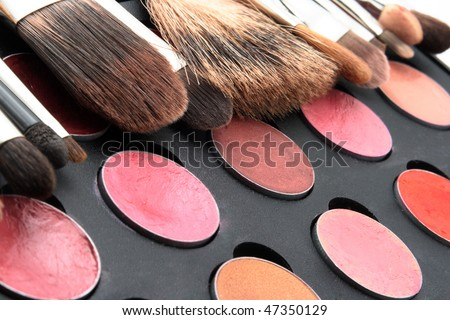 Beauty cosmetic paints - stock photo