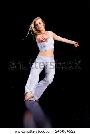 Beauty Elegance Workout  - stock photo
