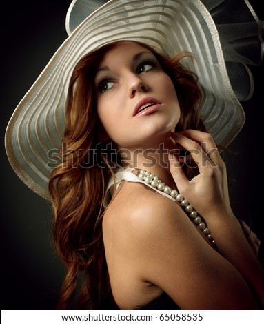 beauty girl - stock photo