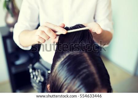 Barber Work Beauty Salon Stock Photo 245190721 - Shutterstock