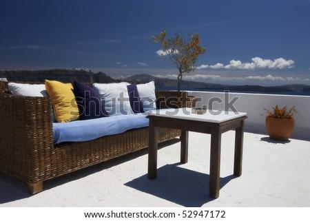 beauty outside exterior - stock photo