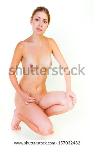 Beauty Posing Erotica  - stock photo