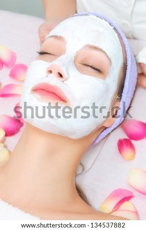 Beauty treatment - stock photo