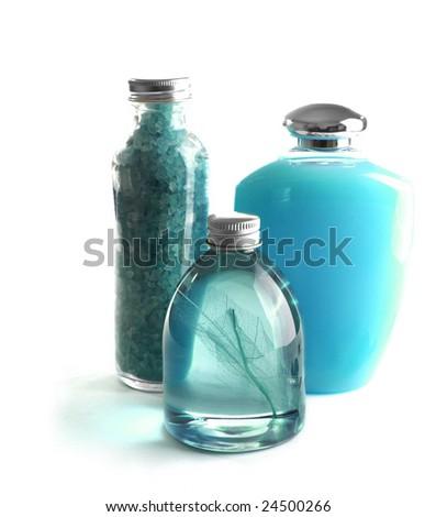 beauty treatment products - stock photo