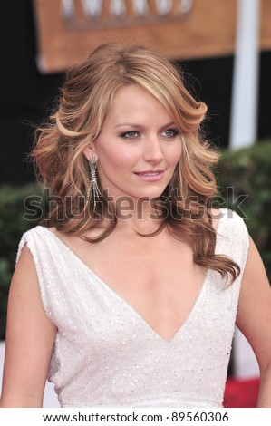 Becki Newton at the 14th Annual Screen Actors Guild Awards at the Shrine Auditorium, Los Angeles, CA. January 27, 2008  Los Angeles, CA. Picture: Paul Smith / Featureflash - stock photo