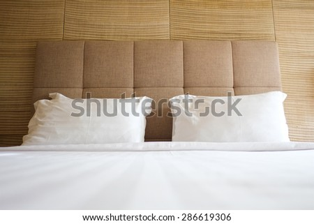 bed Comfortable - stock photo