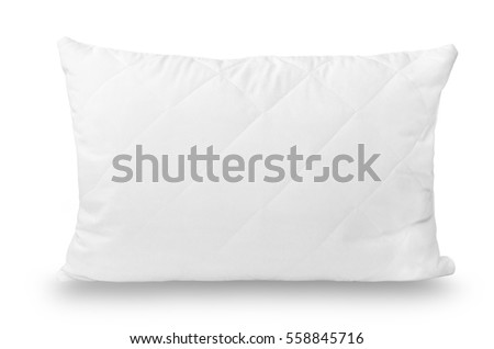 Bed dress. Soft comfortable pillow for sleeping