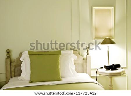 bed room design - stock photo