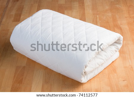 bedding sheet - stock photo